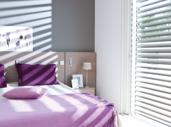 Venetian Blinds Bedroom