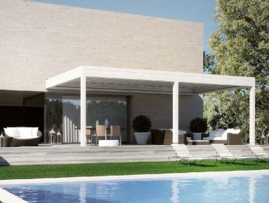 Harmonise your Pergola with then Natural Environment and your Building's Design