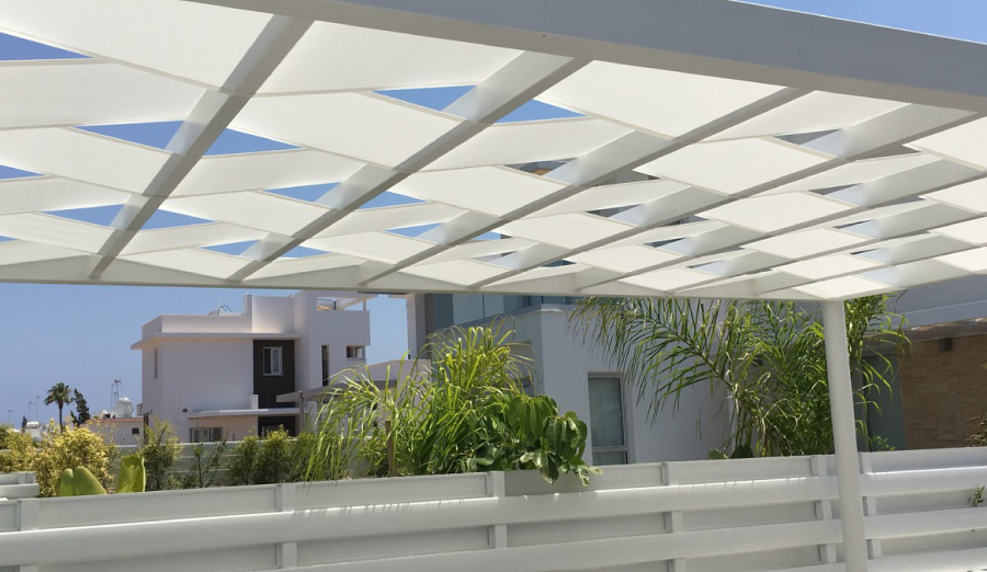 Aluminium Fixed Pergolas